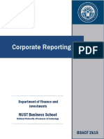 Course Outline Corporate Reporting BSACF 25-08-17