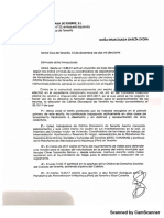 Carta de despido de Inma Évora
