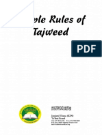 Rules of Tajweed of the Quran