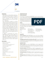 PENETRON Data Sheet