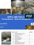 219562331 2011 1 Training Manual on Material Management