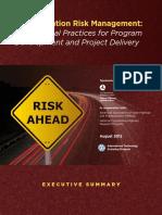 FHWA RM Executive Summary 8-29