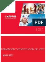Formacion y Constitucion Del Comite de Seguridad y Salud en El Trabajo Csst