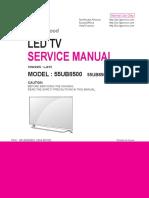 LG 55UB8500 SA LJ41V.