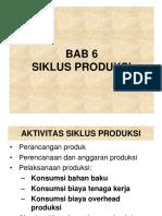 Bab 6 Siklus Produksi