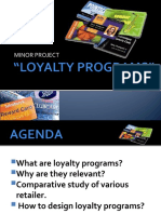 Loyalty Programs Presentation