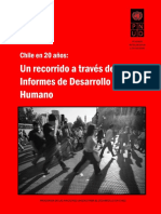 20 Años de Informes Sobre Desarrollo Humano en Chile