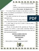Carta Da Paz