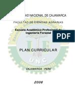 Plan de Estudios Ingeniería Forestal