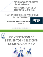 Exposicion de Segmentos de Mercado y Seleccion de Mercados Meta