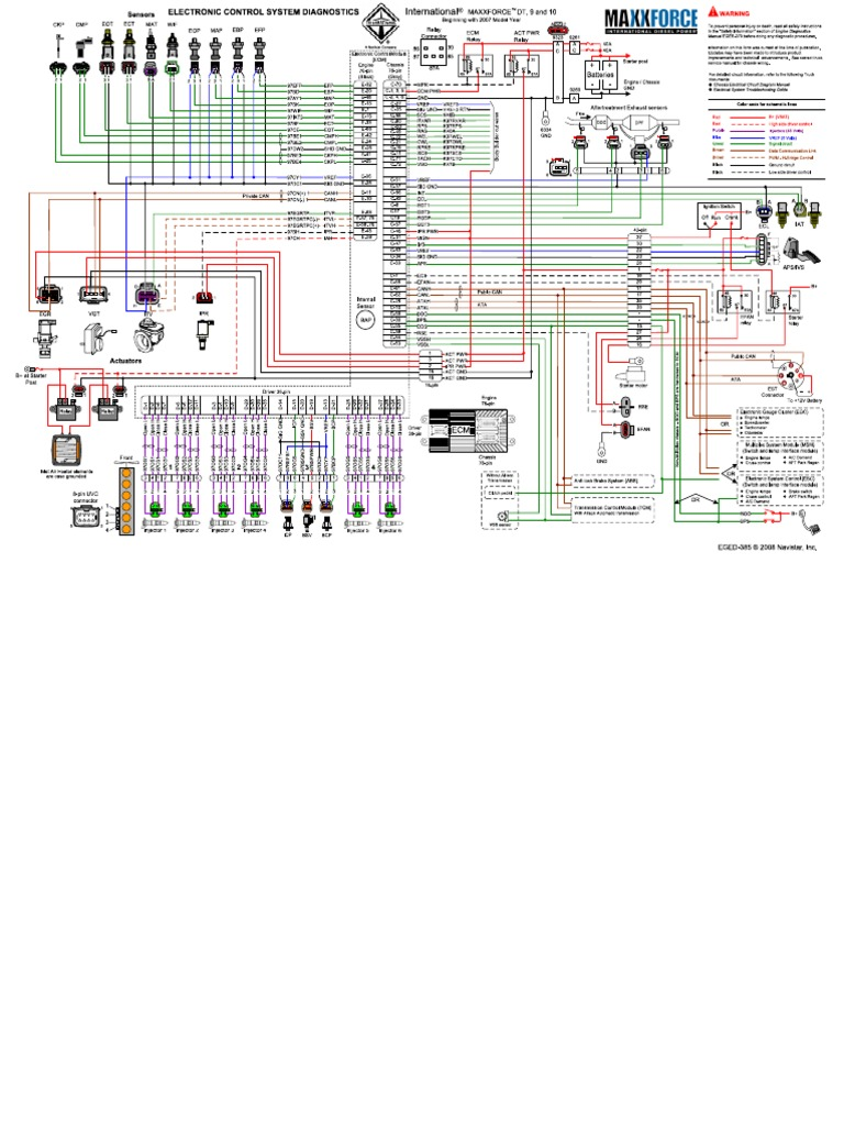 Maxxforce Wiring Diagram Landor Navistar Excellent Dt Contemporary Best Image Diagrams