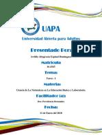 Tarea I-Ciencia de La Naturaleza en La Educación Básica y Laboratorio-Awilda Altagracia Espinal Dominguez-UAPA