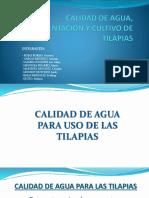 Calidad de Agua, Alimentación y Cultivo de (2)