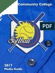 2017 KCC Softball Media Guide