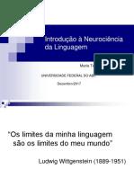 Introdução à Neurociência - Linguagem