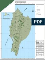Mapa de Red Meteorologica Automática Del Ecuador