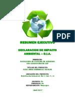 Resumen Ejecutivo DIA Gasocentro Jorge Rodriguez