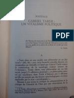 Lazzarato, Postfacio a Monadologie Et Sociologie
