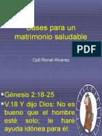 Bases Bblicas Del Matrimonio