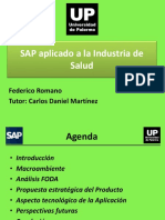 SAP Aplicado a La Industria de Salud