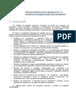 Plan Mitigacion Ambiental Reparacion y Compensacion Ambiental