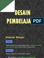 Desain Pembelajaran 01-2016