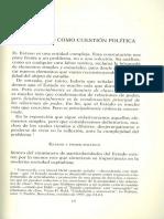 El Estado Como Cuestión Política Jaime Osorio