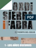 Los Años Oscuros (El Tiempo Del Exilio Nº 1) - Jordi Sierra i Fabra