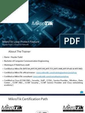 MikroTik Loop Protect | Network Packet | Ethernet