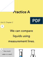 3.2b Practice A - Comparing Liquids Using Fractions