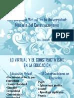 Educacion Virtual Conectivismo