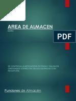 TIPOS DE ALMACEN