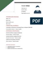 Curriculum Entrenador Personal