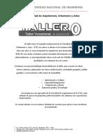 TALLER 0 - TALLER VOCACIONAL DE ARQUITECTURA  2018 - 1- CICLO REPASO.pdf