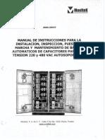 03 Manual Banco de Capacitores Moltek