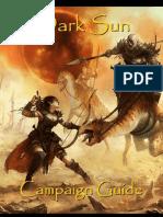 Dark Sun Campaign Guide