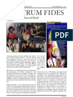 Fides Newsletter AY2007 2008 Issue 2