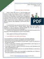 Literatura Oral e Tradicional - Contos e Lendas-caract. (Blog8 10-11)