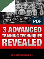 3 Advanced Training Techniques