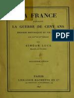 La France Pendant La Guerre de Cent Ans