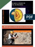 métodos para o estudo do interior da geosfera