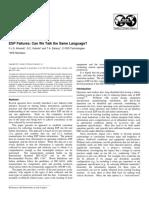 ESP Failures Can We Talk the Same Language, F.J.S. Alhanati, SPE, 2001