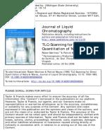 TLC-scanning for Direct Quantitation (1990)