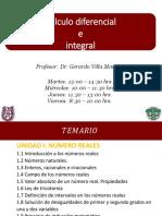 Temario, Evaluación__ Cálculo Diferencial e Integral 1AM3_2018_1