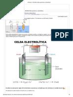UTNianos - [AYUDA] Celdas Galvánicas y Electrolíticas