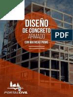 Brochure Diseño de Concreto Armado