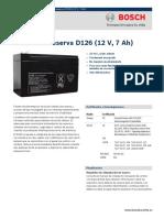 Bateria D126