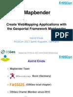 Froscon 2017 Mapbender Emde