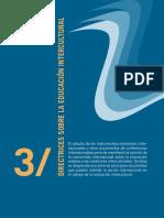 Directrices de La Unesco Sobre La Educación Intercultural