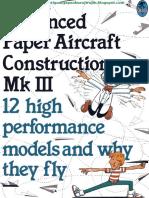 Campbell Morris - Advanced Paper Aircraft Construction 3